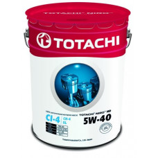Масло моторное TOTACHI NIRO  HD Synthetic API CI-4 / SL 5W-40 19,34л