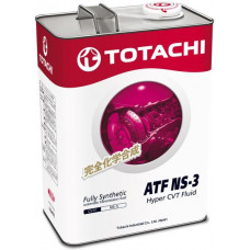 Жидкость для вариатора TOTACHI ATF NS-3 синт. 4л